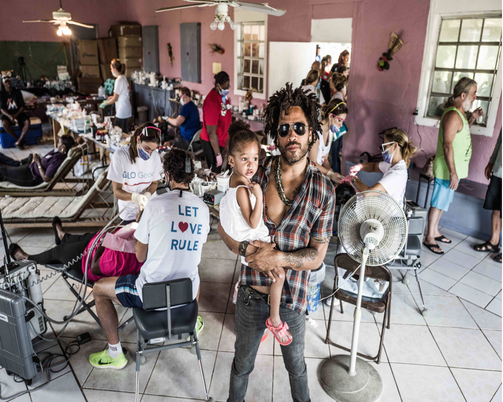 Lenny Kravitz's Let Love Rule Foundation & GLO Good Foundation Team Up to Bring Community Dental Services to Eleuthera, Bahamas